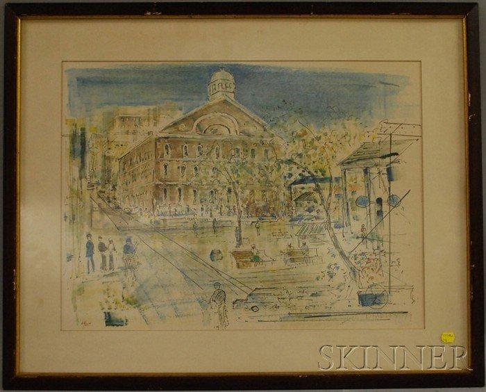 706: Alfred Birdsey (British, 1912-1996) Three Works on