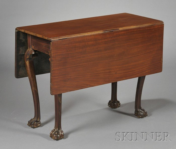 721: George III Colonial Cedar Drop-leaf Table, late 18