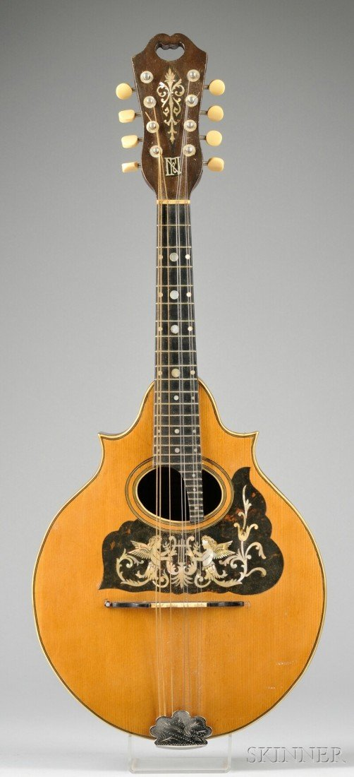 1: American Mandolin, Raphael Ciani, New York, c. 1910,