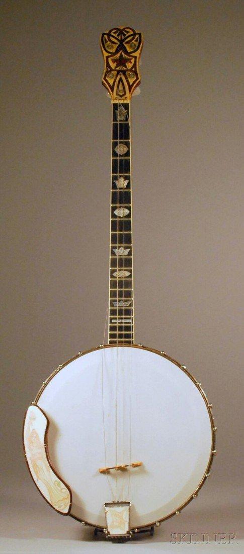 4: American Tenor Banjo, The Vega Company, Boston, c. 1