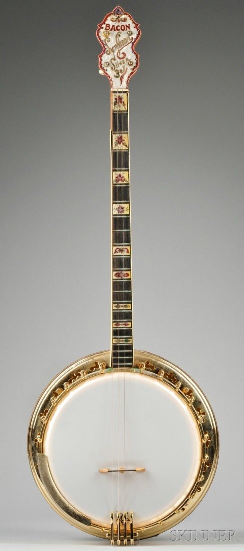 5: American Tenor Banjo, Bacon Manufacturing Company, G