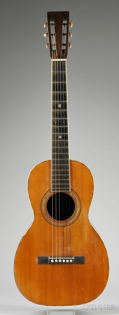9: American Guitar, C.F. Martin & Company, c. 1890, Sty