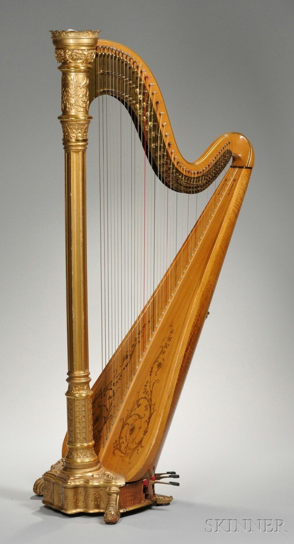 20: American Concert Harp, Lyon & Healy, Chicago, c. 19