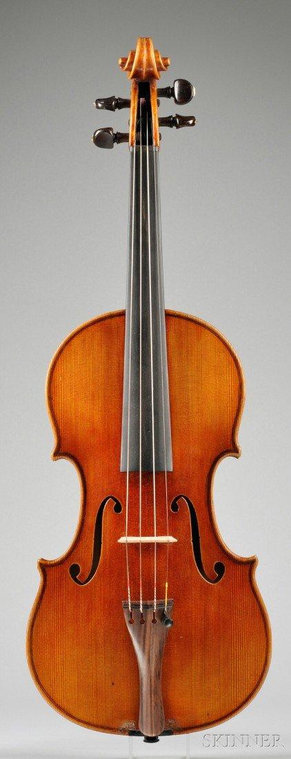 23: American Violin, Carl George, Chicago, 1933, bearin
