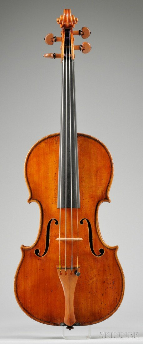 350: Modern Violin, labeled ARTURO FRACASSI, FECE IN CE