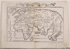 842 Maps and Charts World Projection Waldseemuelle