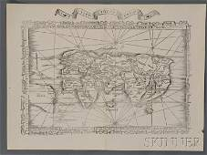 843 Maps and Charts World Projection Waldseemuelle