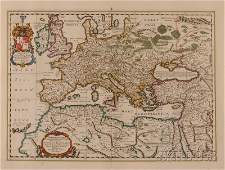 866 Maps and Charts Europe Europa Antiqua cum fini