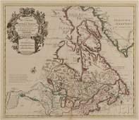 887: (Maps and Charts, North America), Delisle, Guillau