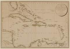 917: (Maps and Charts, West Indies), Delarochette, L. S