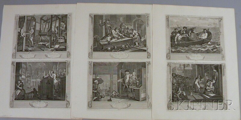 15: William Hogarth (British, 1697-1764) Industry and I