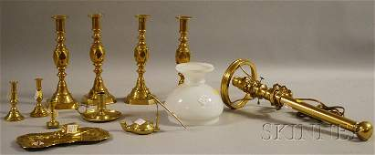 1337 Eleven Brass Lighting Devices and Related Accesso