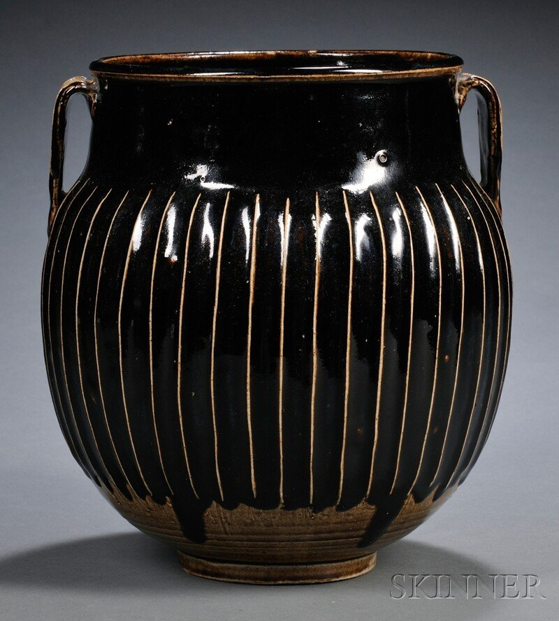 556: Stoneware Jar, China, possibly northern Sung perio