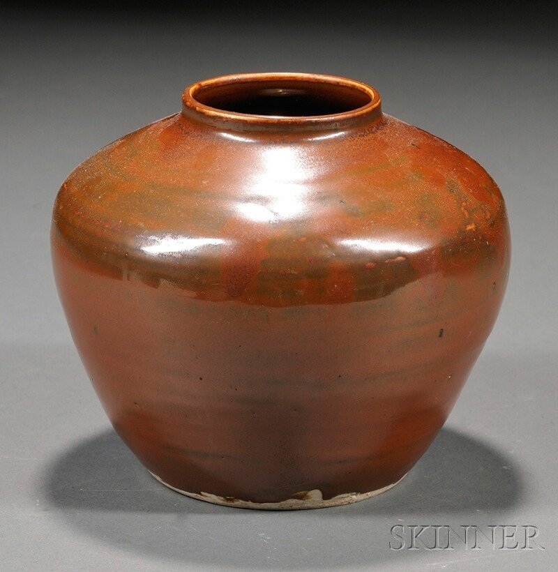563: Stoneware Jar, China, possibly Northern Sung perio