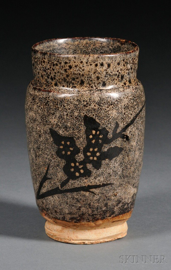566: Stoneware Jar, China, possibly Sung period (967-12