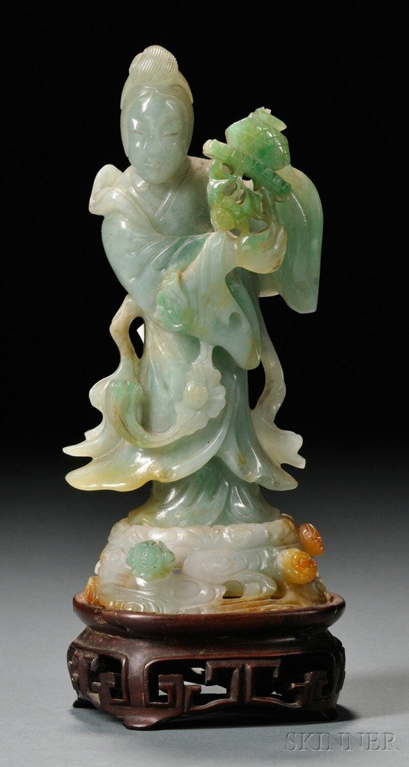 1283: Celadon Carving, China, late 19th/early 20th cent