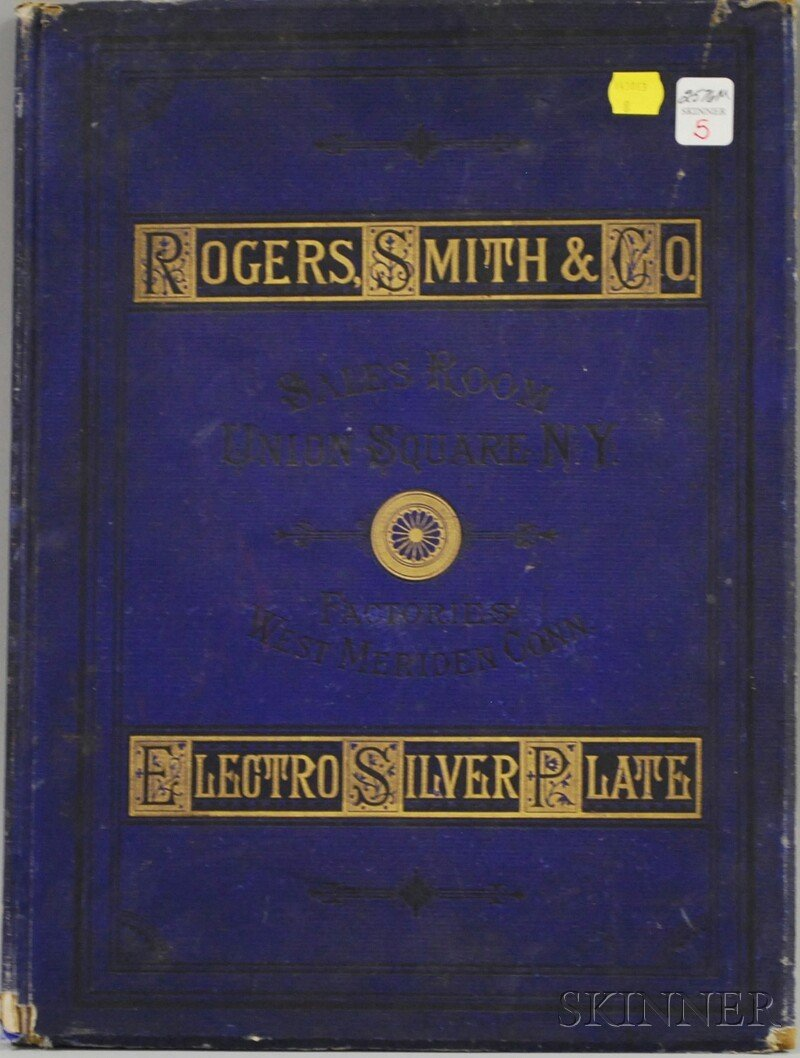 5: Rogers, Smith & Co. Electro Silver Plate 1878 Catalo