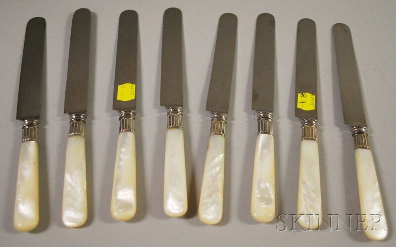 6: Set of Eight Tiffany & Co. Mother-of-pearl-handled D