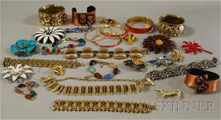 235A: Group of Assorted Mostly Costume Jewelry, includi