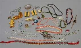 329: Group of Assorted Jewelry, a mostly sterling silve