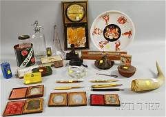 902: Lot of Assorted Collectibles and Early Portrait Ph
