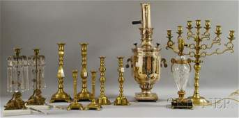 1067 Group of Decorative Metal and Brass Articles inc