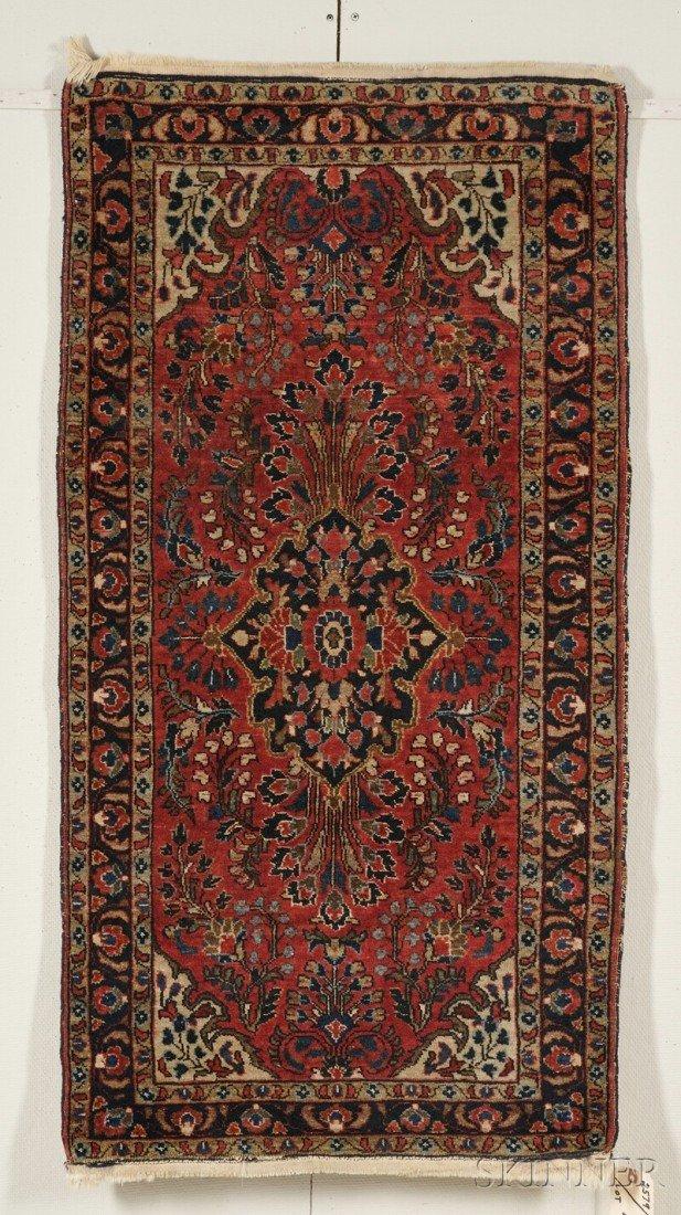 15: Sarouk Rug, West Persia, early 20th century, (sligh