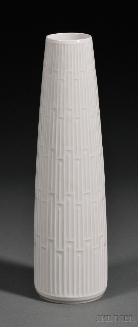 16: Hans Merz for Meissen Weiss Porcelain Vase, Germany