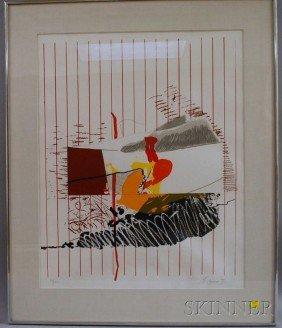 Moshe Givati (Israeli, B. 1934) Abstract, Edition