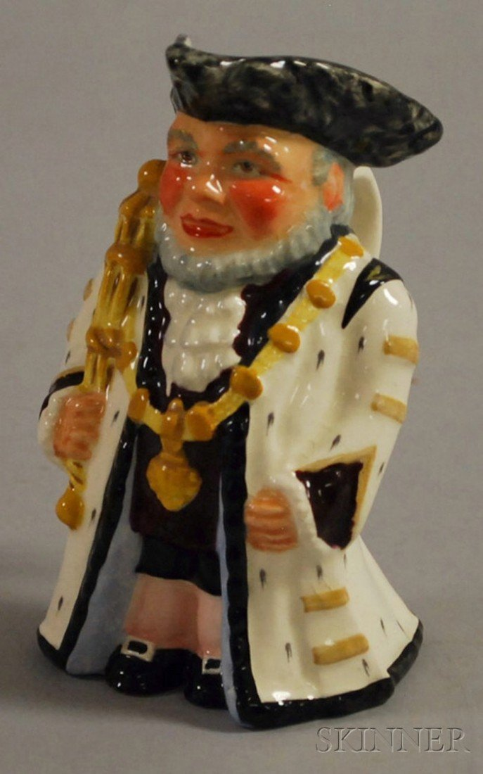 171: Wedgwood & Co. Ltd. Ceramic Lord Mayor Toby Jug, b