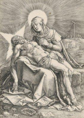 Hendrik Goltzius (Dutch, 1558-1617) Piet�, 1596. Mo