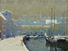 475: Arthur Clifton Goodwin (American, 1864-1929) Bosto