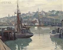486: Emile Albert Gruppé (American, 1896-1978) Gloucest