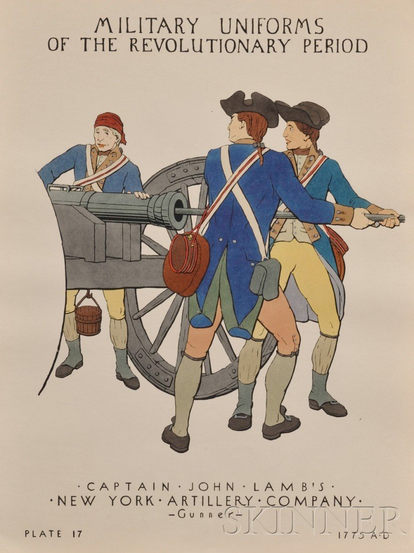 1004: (Revolutionary War Uniforms), A Handbook of Milit