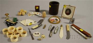 1556 Group of Miscellaneous Collectible and Domestic A