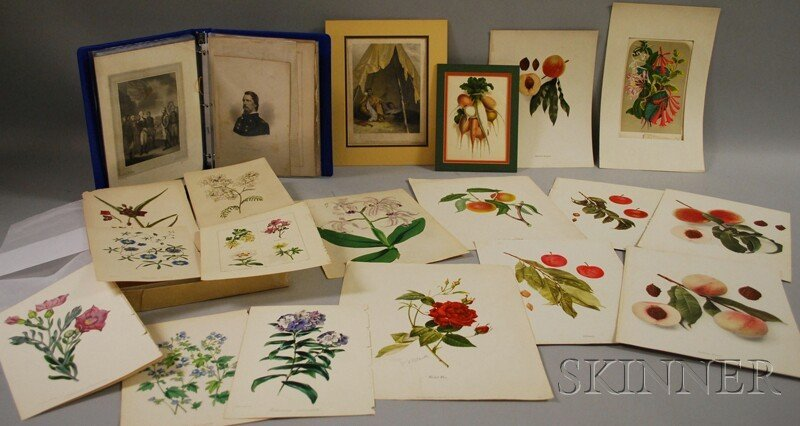 1561: Collection of 19th and Early 20th Century Prints