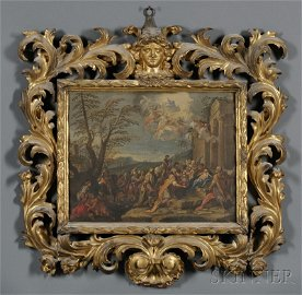 745: Continental School, 18th/19th Century, Adoration o