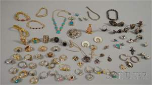426 Group of Assorted Jewelry Items Including Sterling