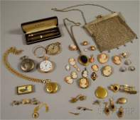 Group of Assorted Men's and Women's Antique Jewelr