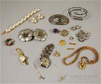 479 Small Group of Assorted Jewelry including a Trifa