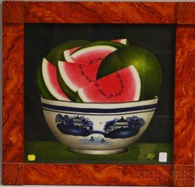 Painted Theorem With Watermelons In A Canton Bowl,
