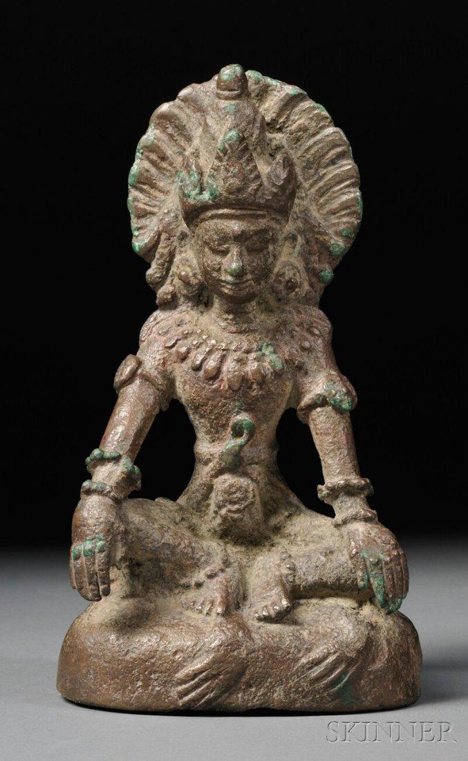 Bronze Figure of Padmapani, Burma, Pagan, 11th century,