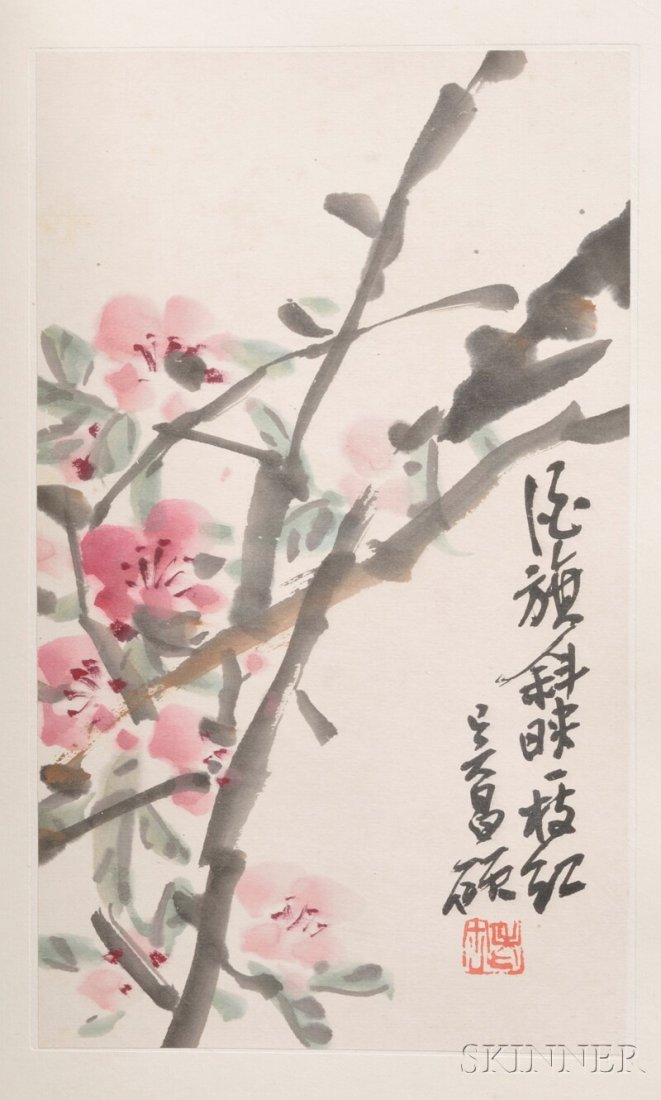 Album of Paintings, China, ink and color on paper, attr