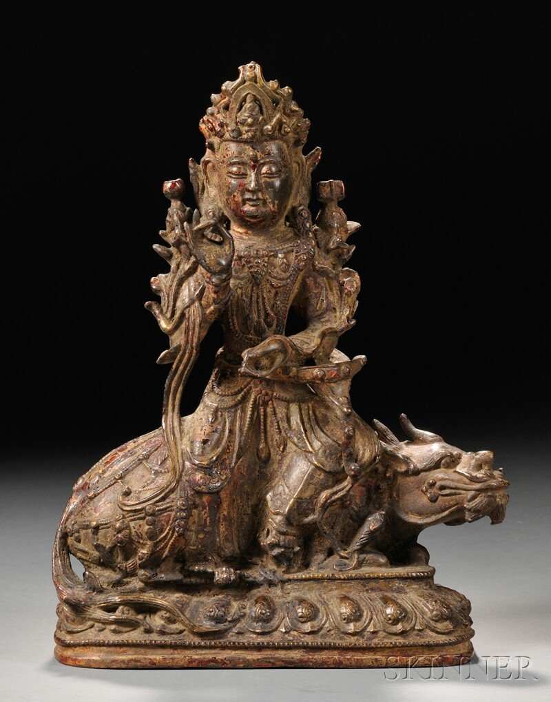 Bronze Buddhist Figure, China, Ming dynasty (1368-1644)