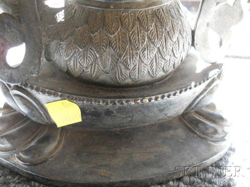 Bronze Tantric Deity, Sino-Tibetan, 19th century, seate - 7