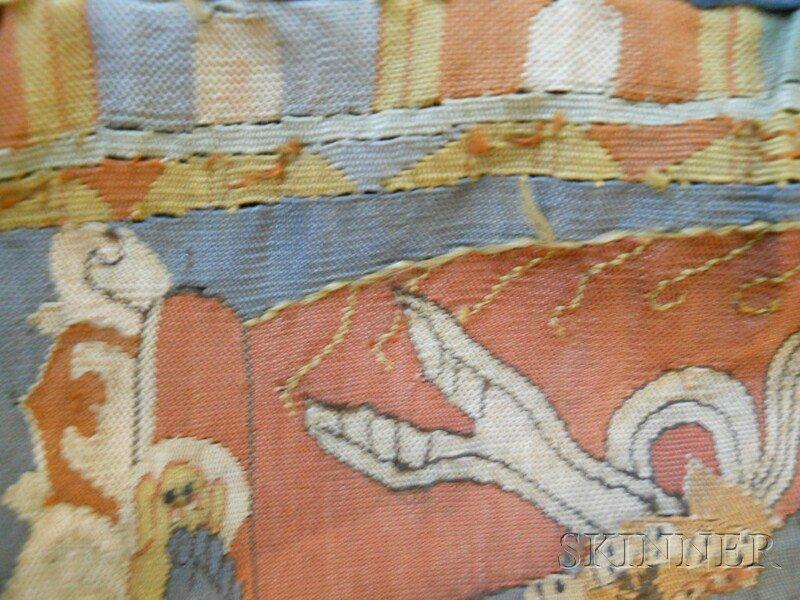 Kesi Panel, Sino-Tibetan, 19th century, finely decorate - 6
