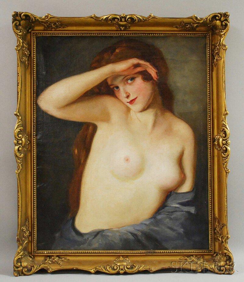 5: Maria Szantho (Hungarian, 1897-1998) Portrait of a F