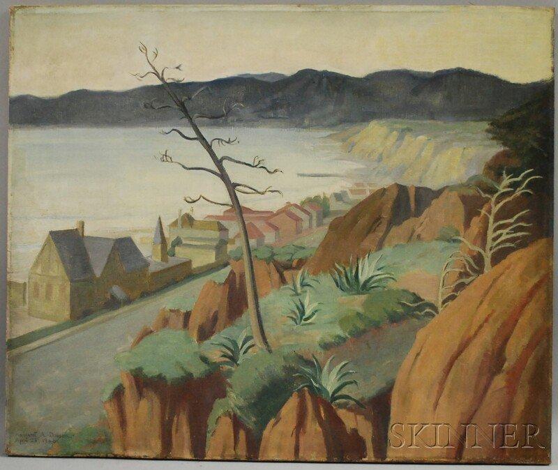 13: Margaret Anna Dobson (American, 1888-1981) Coastal