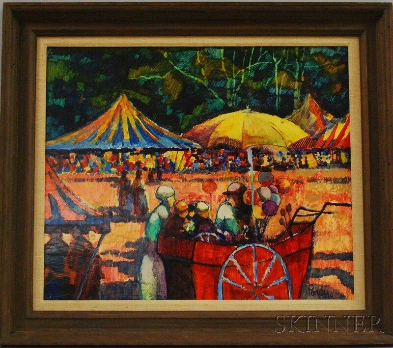 15: Donald Roy Purdy (American, b. 1924) Balloon Seller