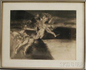 Steven Trefonides (American, B. 1926) Kali #1/#3. S
